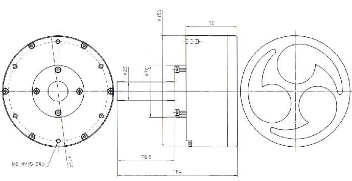 EPGS 発電機外形図
